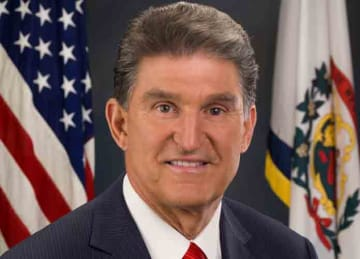 Description: English: Official portrait of Senator Joe Manchin of West Virginia. Date: 18 November 2010 Source: https://www.manchin.senate.gov/public/index.cfm/files/serve?File_id=844BF645-14EE-4751-9EC9-15317A6CA9D0. Author: Rebecca Hammel...