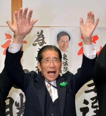 91歳、市議初当選 佐賀県鹿島市の高松氏