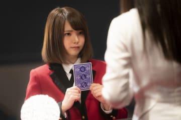 「映画 賭ケグルイ」に出演しているえなこさん (C)2019 河本ほむら・尚村透/SQUARE ENIX・「映画 賭ケグルイ」製作委員会