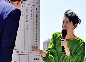 雛形あきこさん「親しみを感じる場所」 福島県の印象語る