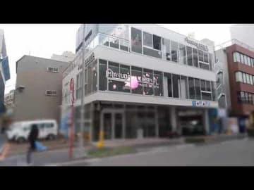 ホテル業界初のLEDシースルービジョン『ホテルサイネージ』を「MAYUDAMA CABIN 横浜関内」に設置!