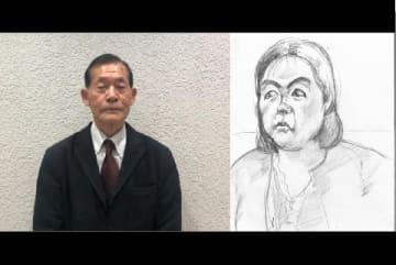 法廷画家の染谷栄さん