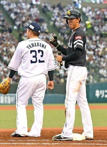 ソフトバンク3年目の三森、プロ初スタメンで故郷埼玉に恩返し