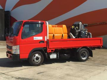 モリタテクノス 泡消火装置「18 UnitCAFS」を国内フェリーに初納入