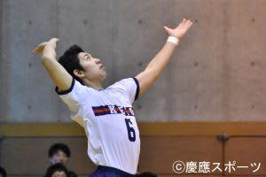 【バレーボール】サーブで崩され力負け。後半戦の挽回を誓う/春季関東大学男子1部バレーボールリーグ戦 第6戦 vs筑波大