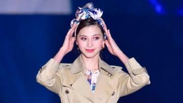 大型ファッションイベント「TGC KUMAMOTO 2019 by TOKYO GIRLS COLLECTION」に出演した中条あやみさん (C)TGC 熊本 2019