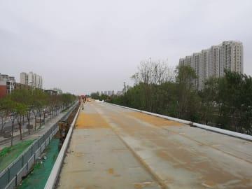北京初の自転車専用道公開 人に優しい新たな交通モデルを構築