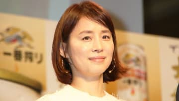 キリンビールのイベント「新おいしい!新・一番搾り完成体験会」に登場した石田ゆり子さん
