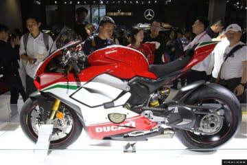 <上海モーターショー>ドゥカティが出展、限定バイクも