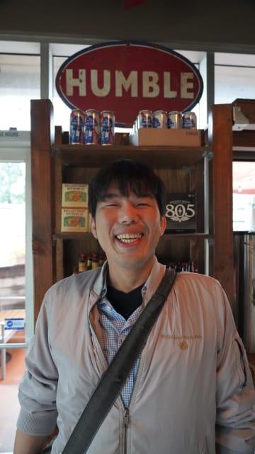 富山県の明治元年から続く鮮魚の業務卸会社の7代目として生まれた横田清一さん。「活け締めにした魚を売りたい」とLAへ移住した