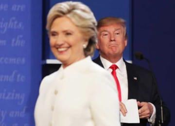Hillary Clinton & Donald Trump Refuse To Shake Hands At Third Presidential Debate
