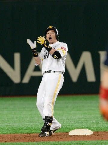 ソフトB松田宣、同点打 4番で勝負強さ発揮