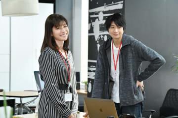 連続ドラマ「わたし、定時で帰ります。」に出演する内田有紀さん(C)TBS