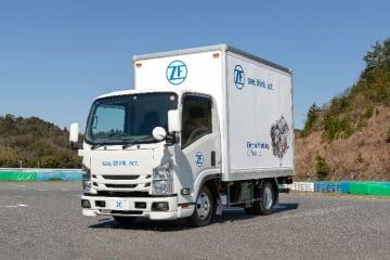 ZF、日本市場むけ電動トラック プロトタイプを開発_CeTrax lite 電動セントラルドライブを搭載