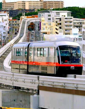 沖縄のモノレール 3両化に200億円以上