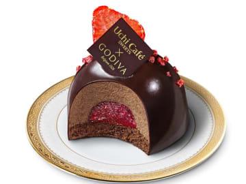 4/23(火)発売【GODIVA×ローソン】苺を使った濃厚ショコラスイーツ2品がこれまたウマそうで…