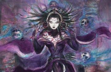 天野喜孝氏が『マジック:ザ・ギャザリング』のカードアートに参戦! 人気キャラ・リリアナを描く