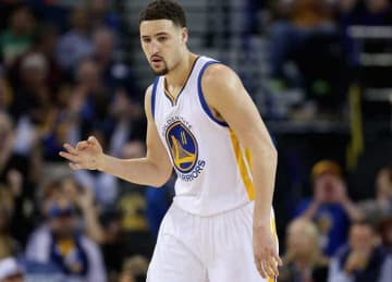 Klay Thompson: Dallas Mavericks v Golden State Warriors