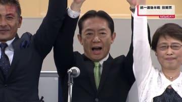 流山市長選 現職の井崎義治氏が5回目当選「価値を高めていく流山を」