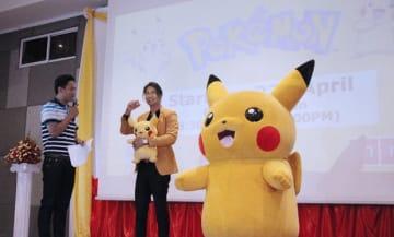 日本の人気アニメ「ポケモン」が27日からMNTVで放送される=23日、ヤンゴン(NNA)