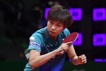【卓球】佐藤瞳、華麗なカットで3回戦へ<世界卓球2019>