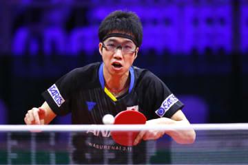 【卓球】水谷隼、巧みな戦術で勝利 ライバルとの3回戦へ<世界卓球2019>
