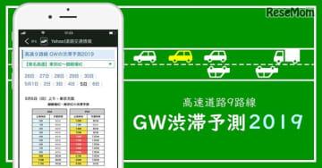 GW渋滞予測2019