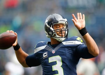 Russell Wilson Suffers Ankle Injury