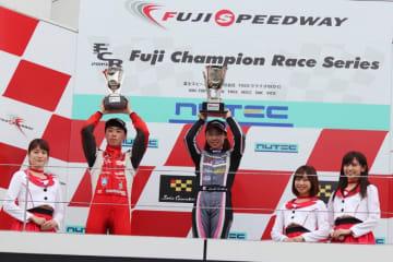 スーパーFJ富士戦で村松日向子が初優勝。女性ドライバーの優勝は2010年の神子島みか以来