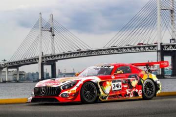 GOODSMILE RACINGがスパ24時間に再挑戦。人気シリーズ『Fate』とコラボしたメルセデスAMG GT3投入