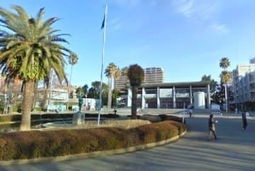 長崎大学のキャンパス(Googleストリートビューより)(C)Google