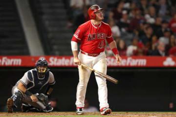 満塁本塁打を放ったエンゼルスのジャスティン・ボーア【写真:Getty Images】