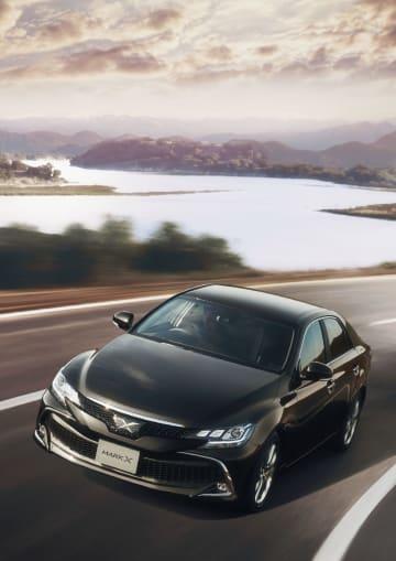 トヨタ自動車が「マークX」の生産終了に当たり発売した特別仕様車