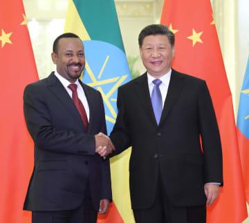 習近平主席、エチオピア首相と会見 「一帯一路」の共同建設強調