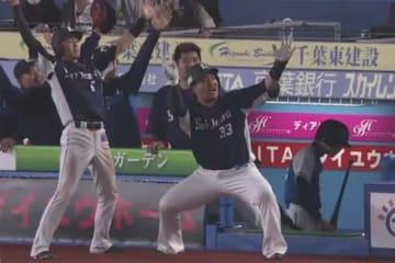 「4番・一塁」で先発出場し2本塁打を放った西武・山川穂高【画像:(C)PLM】
