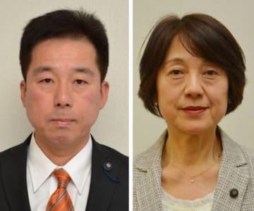 松島啓氏(左)と金谷高子氏