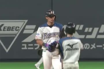 3本の二塁打を含む5安打5打点と活躍した日本ハム・大田泰示【画像:(C)PLM】