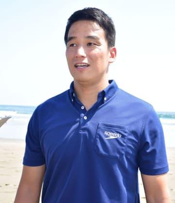 松田丈志さんPR大使就任 9月、サーフィンWG