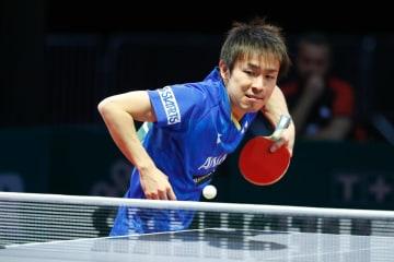【卓球】丹羽孝希、ガッツポーズ見せ16強入り<世界卓球2019>