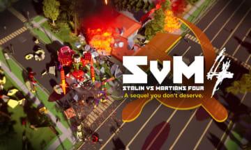 スターリンと火星人が戦う『Stalin vs. Martians 4』発表! あの迷作が可愛くなって復活