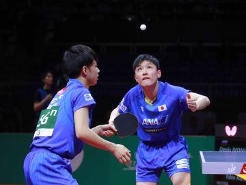 【卓球】張本/木造組、中国に敗退 張本はシングルスに望みを託す<世界卓球2019>