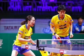 【卓球】吉村/石川組、3大会連続のメダル確定<世界卓球2019>