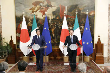 Japan, Italy agree to promote high-quality infrastructure