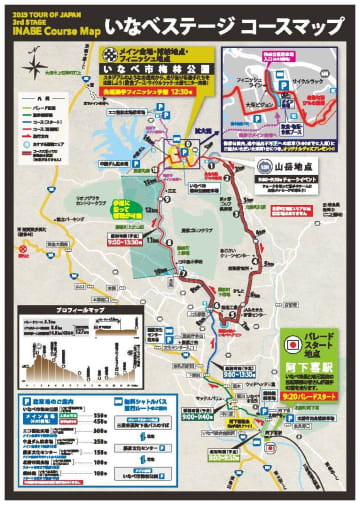 【三重県】2019TOJいなべステージ 5/21開催。無料シャトルバス運行