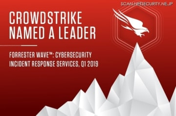 "Forrester Names CrowdStrike ""Leader"" in the 2019 Wave for Cybersecurity Incident Response Services"