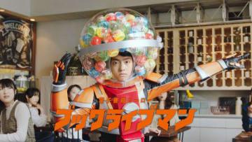 電子書籍サイト「BookLive!」の新CMでブックライブマンを演じる伊藤健太郎さん