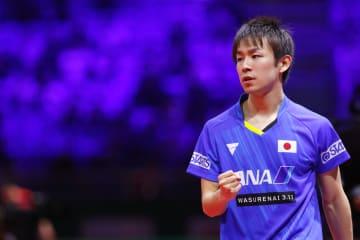 【卓球】丹羽孝希、張本智和が16強 男子25日の組み合わせは<世界卓球2019>