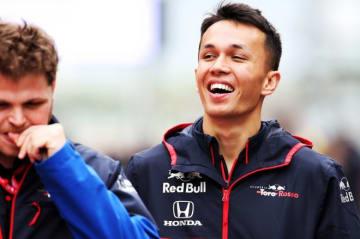トロロッソ・ホンダのアルボン「初の予選Q3進出のため攻めていく。ボスはハラハラするかもしれないね!」:F1アゼルバイジャンGPプレビュー