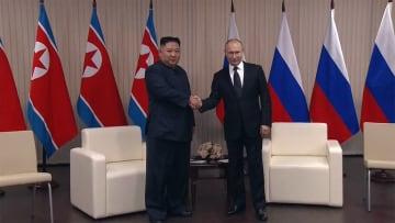 プーチン大統領・金正恩委員長 初の首脳会談始まる【冒頭全録】