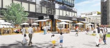 8月上旬にオープンするカフェレストランの完成イメージ